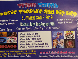 Music Theatre and Hip Hop Summer Camp - Woodland Hills, CA