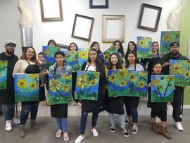 Memo's Canvas Art Lessons and History - Montclair, CA