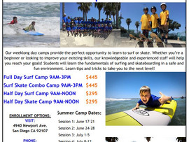 Surf and Skate Summer Camps - Newport Beach, CA