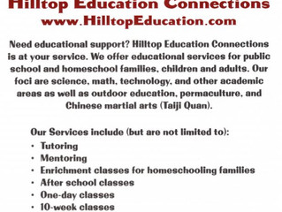 Hilltop Education Connections - Idyllwild, CA & Online