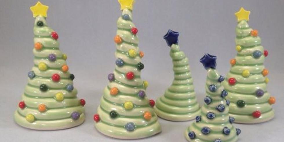 Coiled Christmas Tree