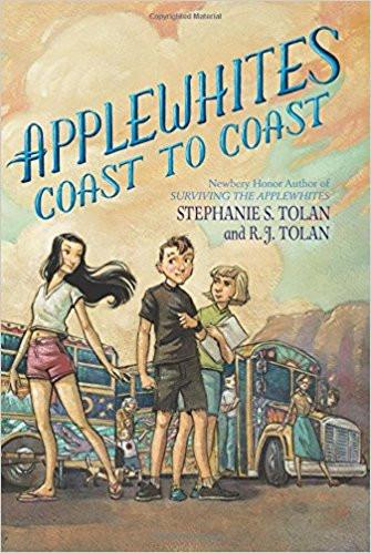 "Book cover for ""Applewhites Coast to Coast"""