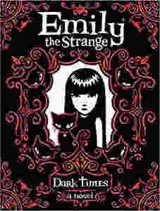 "Book cover for ""Emily The Strange: Dark Times"""