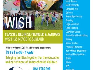 WISH Homeschool Co-op - Sunland, CA