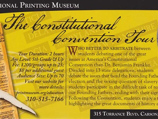 **CANCELED** The Constitutional Convention Tour