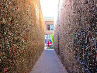Bubblegum Alley - San Luis Obispo, CA