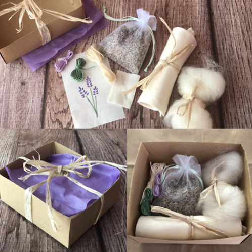 Lavender & Beeswax Nature Kit