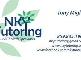 NKY Tutoring: ACT Math Specialists - Virtual