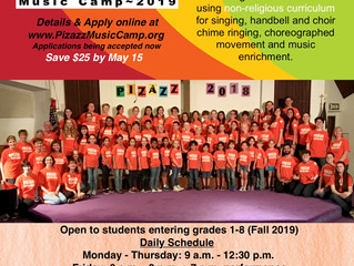 Rockin' Rhythms Music Camp - Westlake Village, CA (dated flyer, contact for updated info -- CLOSED)