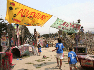 Adventure Playgrounds and Playworks