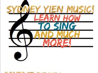 Sydney Yien Vocal Studio - La Mesa, CA