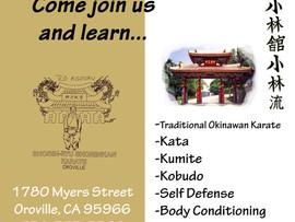 Ro Kazoku Traditional Karate Classes - Oroville, CA