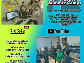 Game Crossing, LLC Offers Professional Esports Summer Camps - Bellflower, CA