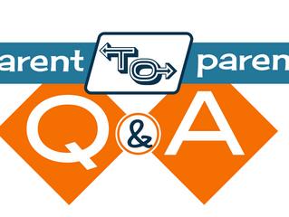 Parent to Parent Q&A Events