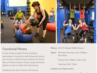 Fitness Program - Folsom, CA