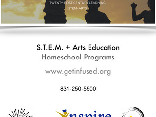 STEM+Arts Programming - Monterey, CA