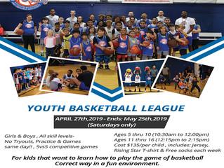 Youth Basketball League - San Diego, CA