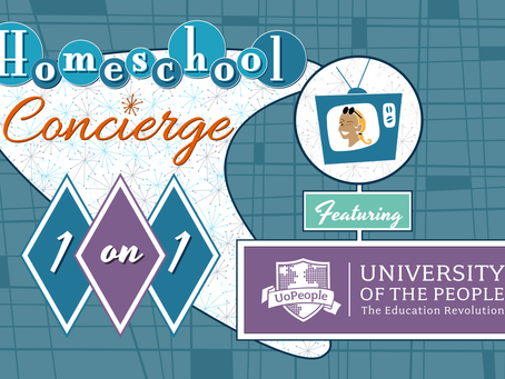 Homeschool 1-on-1: University of the People, The Education Revolution! - Live Webinar 5/7/21, 10 AM