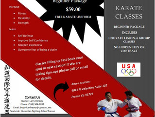 Budo-Kan Fightings Arts of Fresno - Fresno, CA (no website, contact for updated info, CLOSED)