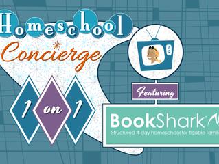 Homeschool 1-on-1: BookShark - Live Webinar - Saturday, August 14,  10:00 AM-11:00 AM PST