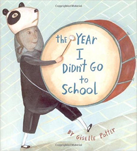 """Book cover for """"The Year I Didn't Go to School"""""""