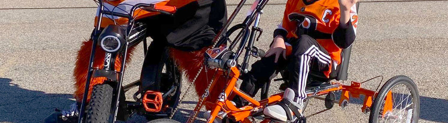 Decals for Accessibility Bike