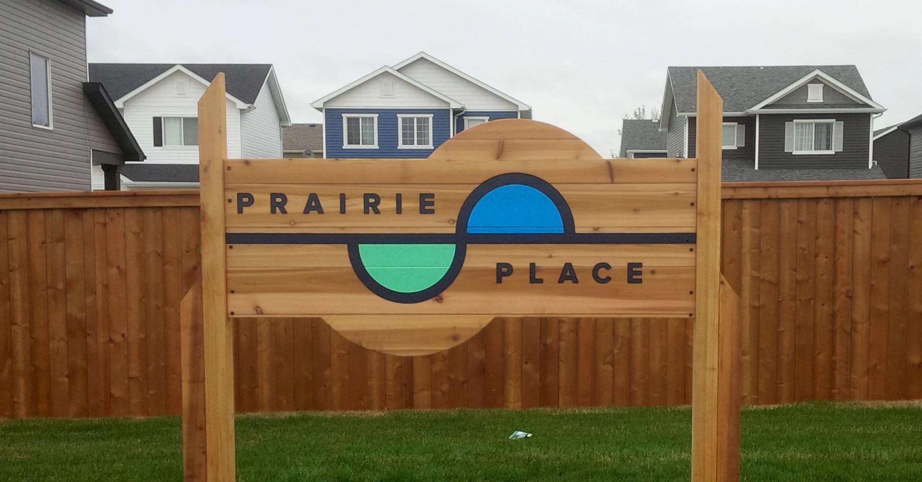 Cut-to-Shape Wood Sign