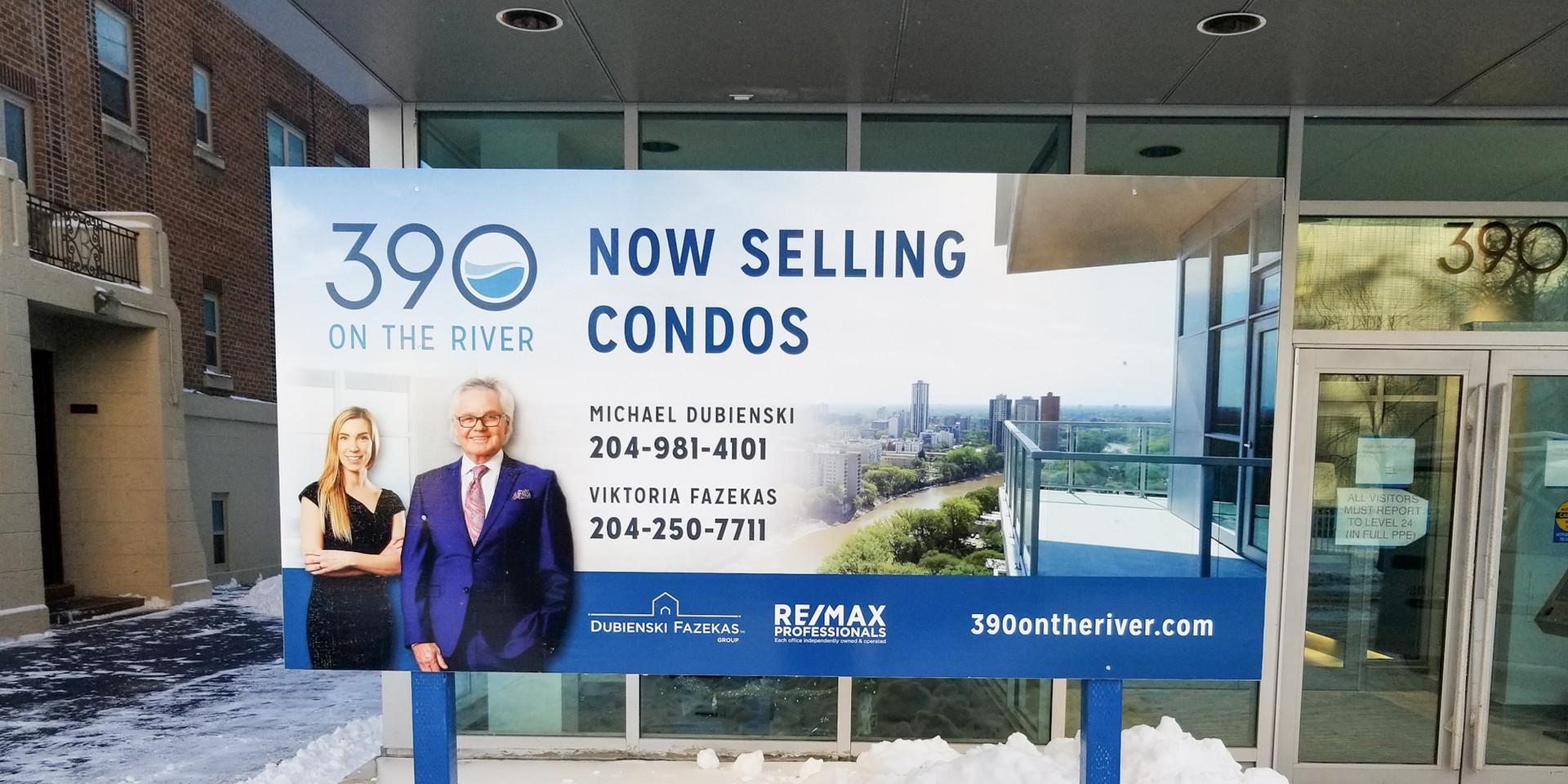 Freestanding Real Estate Sign