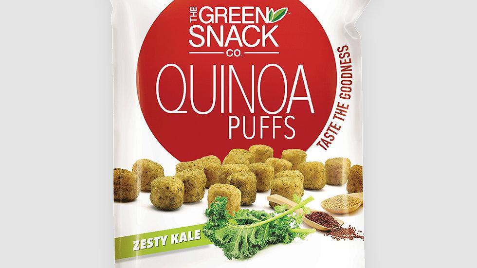 Gsc quinoa puffs - Zesty kale