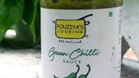 Fouziya's Cooking - Green Chilli Sauce