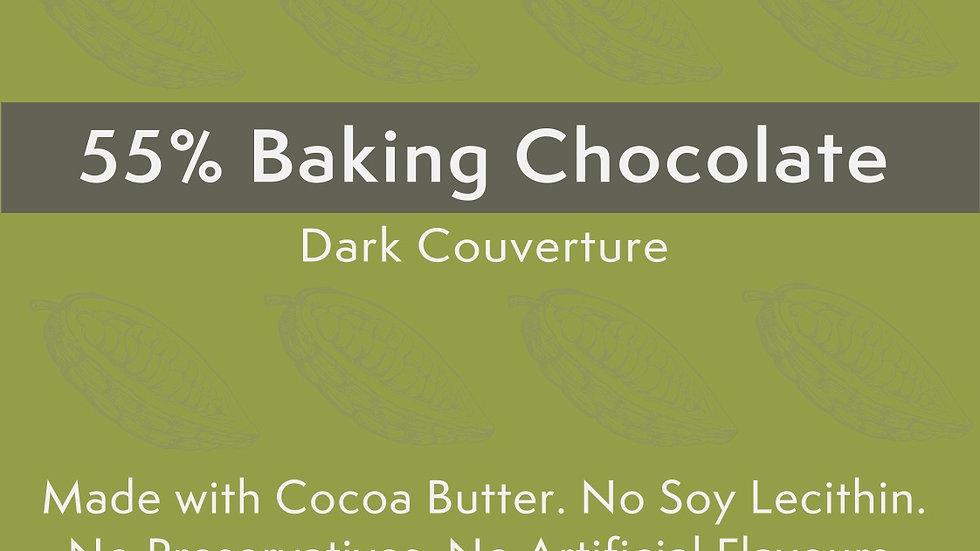 Kocoatrait 55% Baking Chocolate