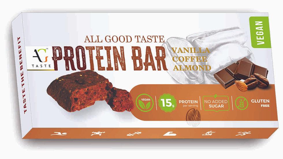 Protein Bar - Vanilla Coffee Almond