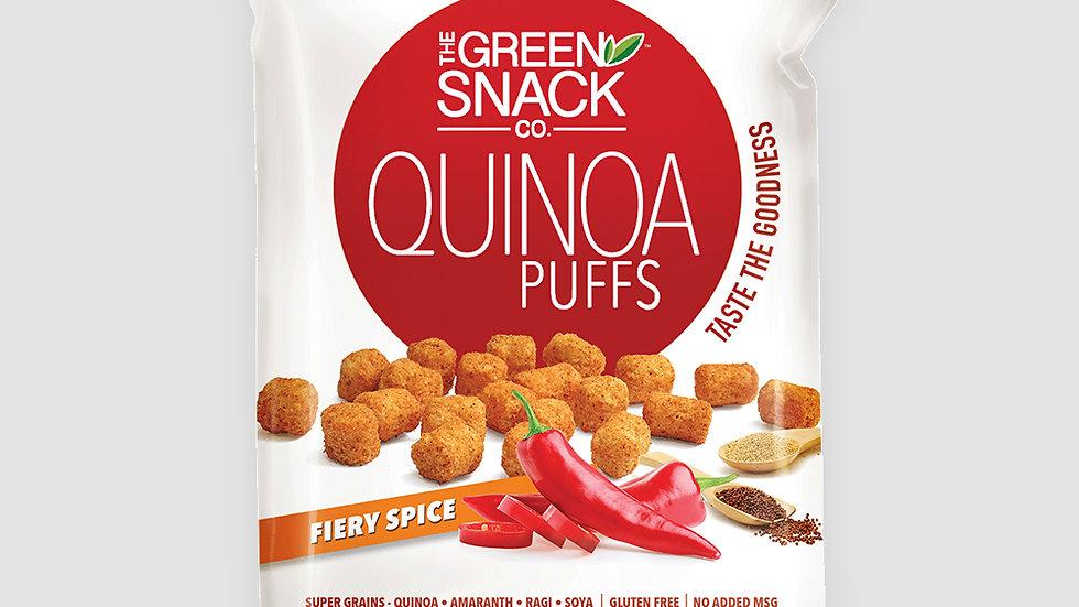Gsc quinoa puffs - Fiery spice