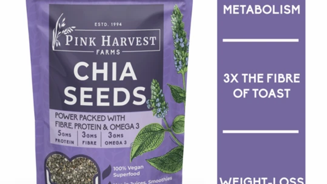 Pink Harvest - Chia Seeds