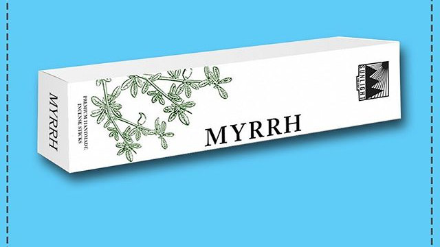 Incense - MYRRH - SUNLIGHT