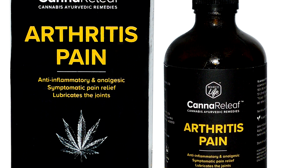 Boheco - Arthritis Pain Relife Oil 100ml