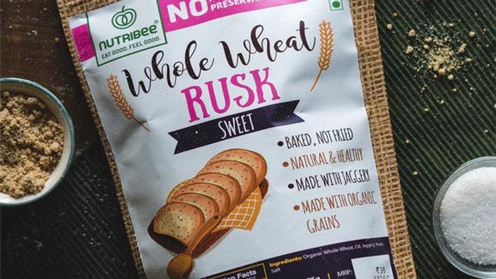 Nutribee - Whole Wheat Rusk - Sweet