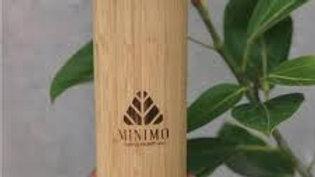Minimo - Bamboo Steel Flask