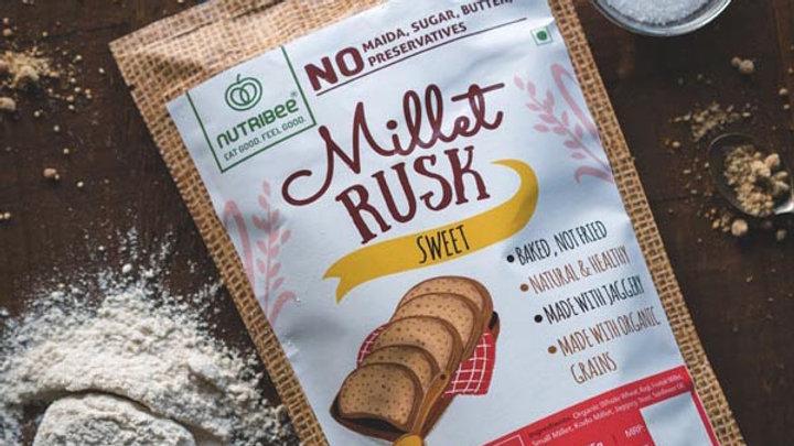Nutribee - Millet Rusk - Sweet