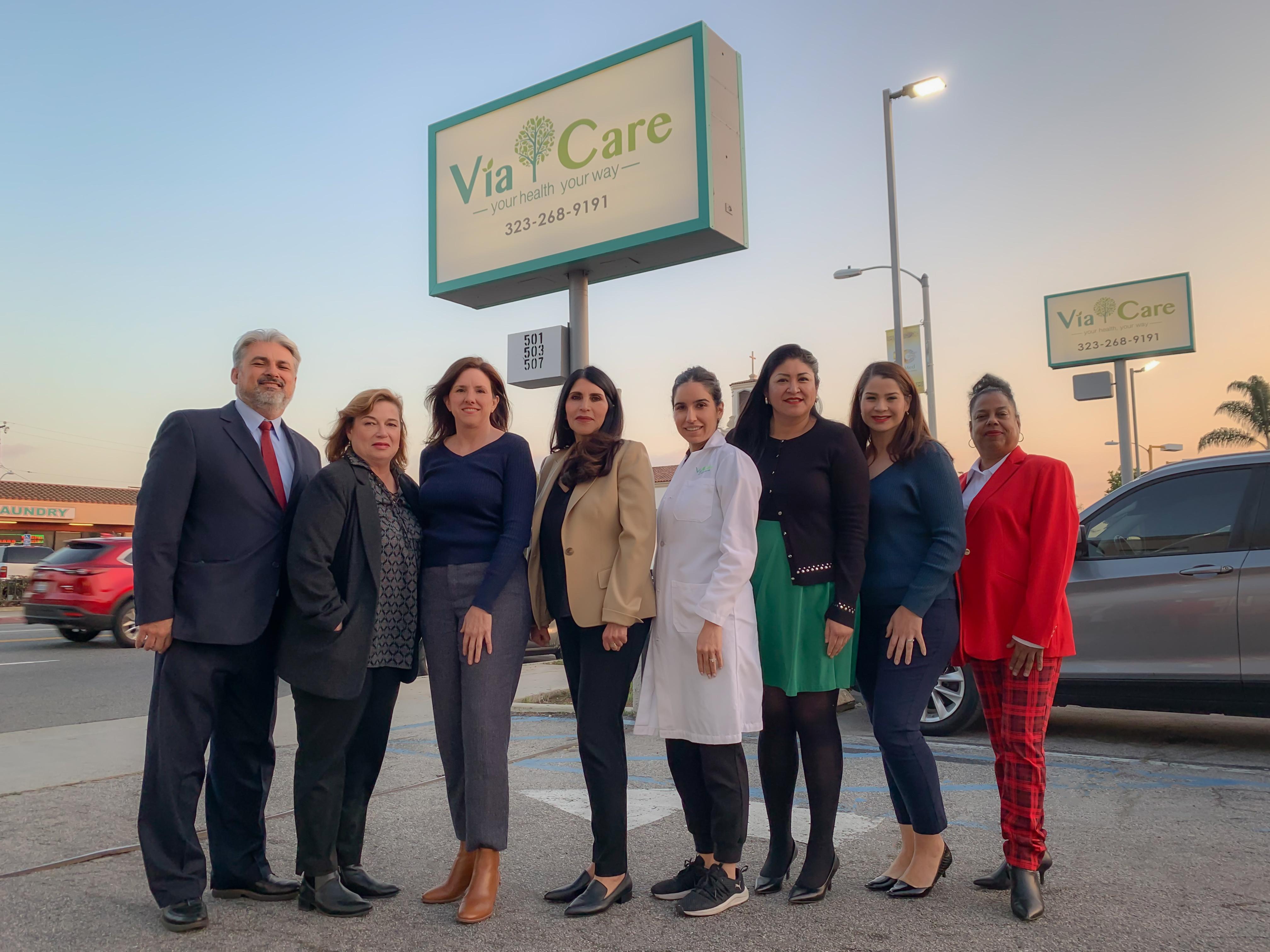 Via Care Leadership Team