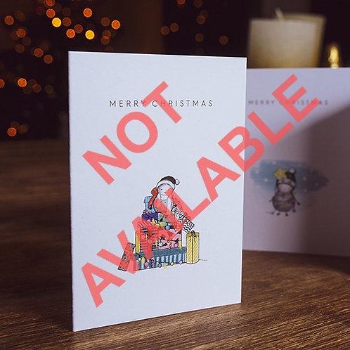 MINI X-MAS CARD >>GAAANZ VIELE GESCHENKE<<