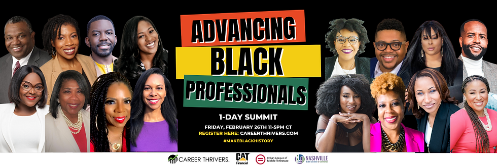 All Speakers. Advancing Black Profession