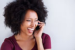 young-black-woman-talking-phone-laughing