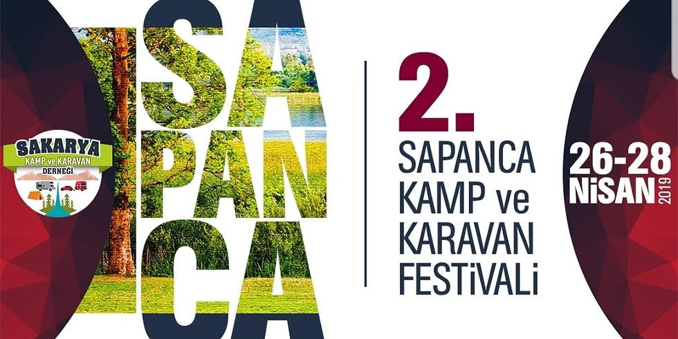 2.Sapanca Kamp ve Karavan Festivali Hoşgeldin Bahar