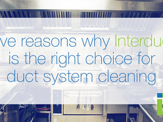 Five reasons why Interduct is the right choice for duct system cleaning