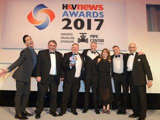 Interduct UK - Award winners at the H&V News Awards!