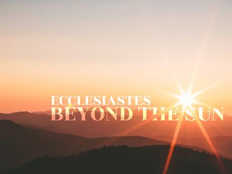 Ecclesiastes Devotional Guide: Week 12