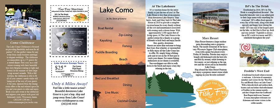 Activities in Lake Como Wisconsi