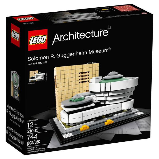 LEGO presenta su más reciente set: el Guggenheim de Frank Lloyd Wright en Nueva York