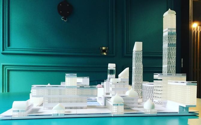 Juego de construcción para diseñar ciudades, Arckit.